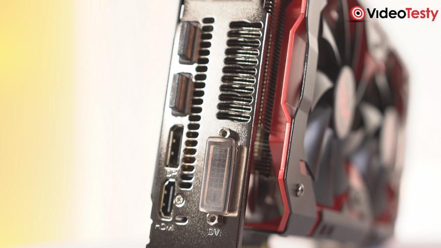PowerColor RX 590 Red Devil - Porty