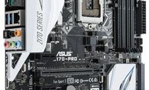 Asus Z170 PRO, Z170, DDR4, SATA3, USB 3.1, ATX (90MB0M10-M0EAY0)