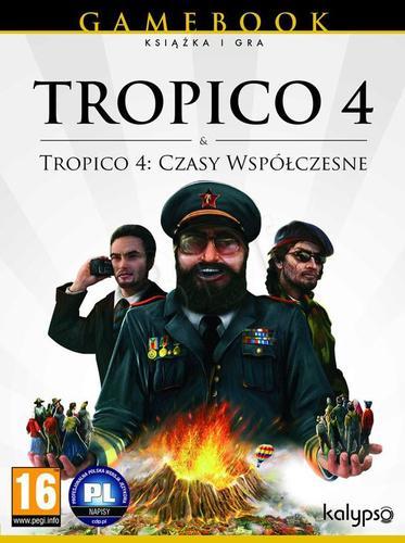 Tropico 4 + Czasy współczesne (książka + gra z dodatkiem)