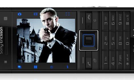 Sony Ericsson C902 James Bond Quantum of Solace