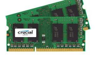 Crucial DDR3L 8GB (2 x 4GB) 1866 CL11 SO-DIMM
