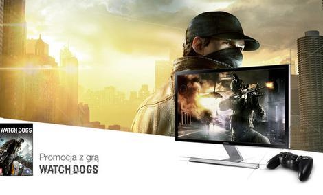 Fantastyczne połączenie - monitor Samsung UHD i gra Watch Dogs
