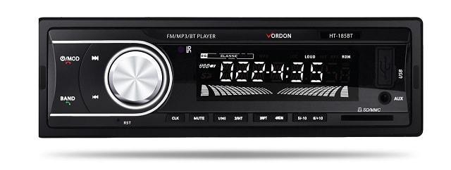 radioodtwarzacz samochodowy z Bluetooth
