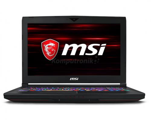 """MSI Titan 8RF GT63 15,6"""" Intel Core i7-8750H - 32GB RAM - 1TB+512GB"""