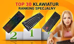 TOP 30 Klawiatur - Ranking Specjalny Wrzesień 2015