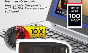 SanDisk ULTRA USB 3.0 FLASH DRIVE 64GB