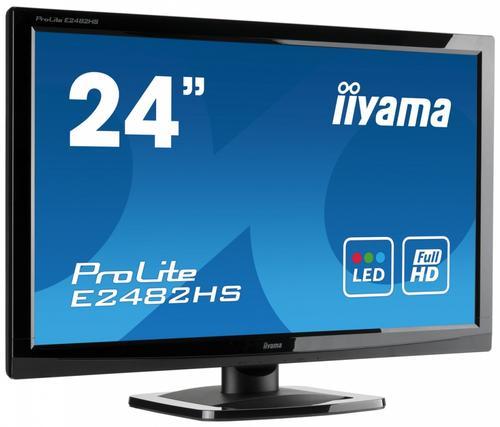 iiyama 23.6'' E2482HS DVI/HDMI/głośniki