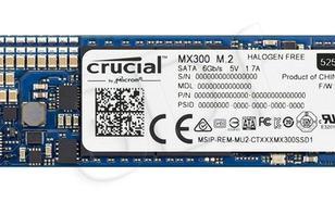 Crucial CT525MX300SSD4 ( 525 GB ; M.2 ; SATA III )