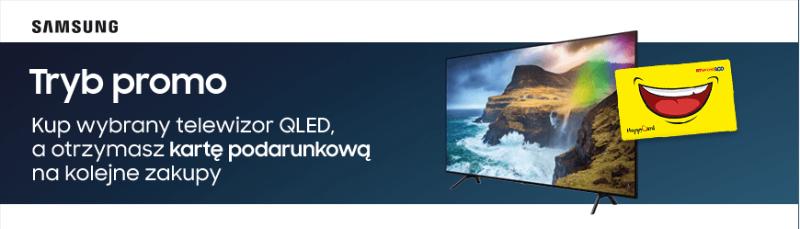 RTV Euro AGD rozdaje karty podarunkowe za zakup telewizora QLED Samsung