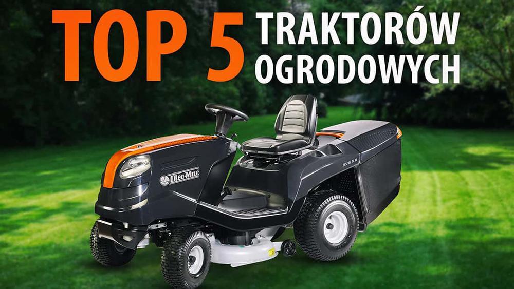 TOP 5 Traktorków ogrodowych - Najlepszy sposób na koszenie trawnika