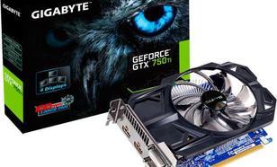 Gigabyte GeForce GTX 750 Ti 2GB GDDR5 (128 bit) 2x HDMI, 2x DVI (GV-N75TD5-2GI)