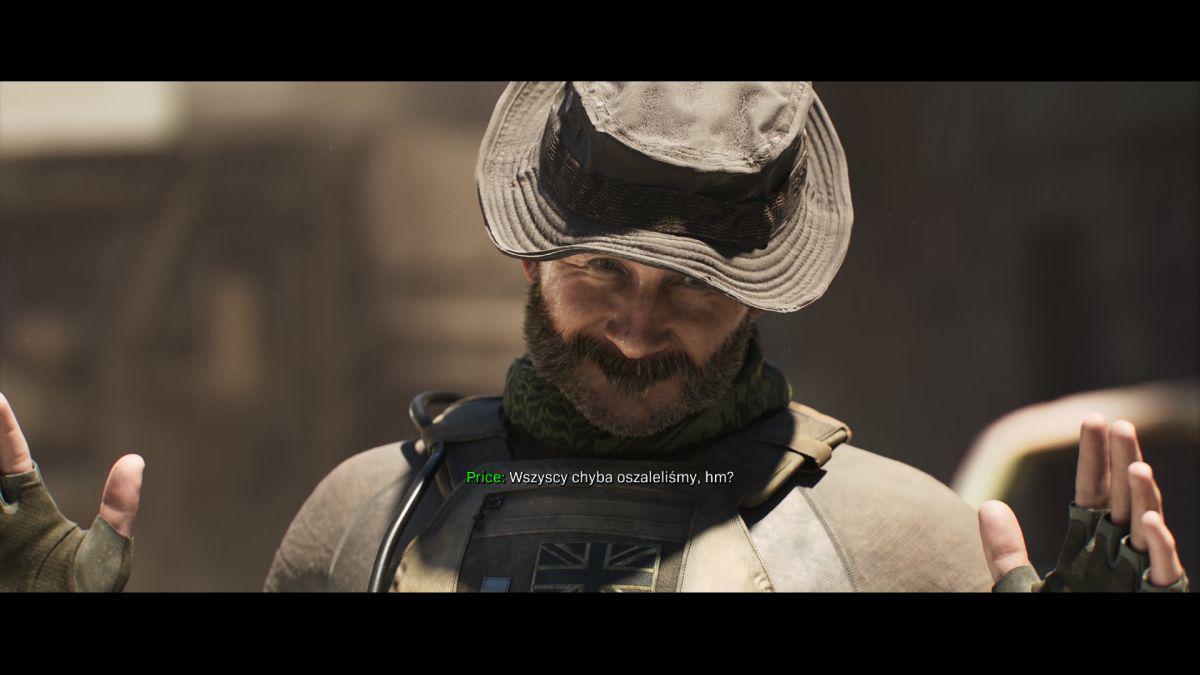 Call of Duty: Modern Warfare - Zadowolony Kapitan Price