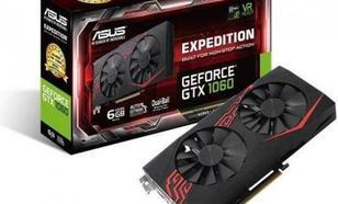 Asus GeForce GTX 1060 Expedition 6GB GDDR5 (192 Bit) DVI-D, 2xHDMI, 2xDP, BOX (EX-GTX1060-6G)