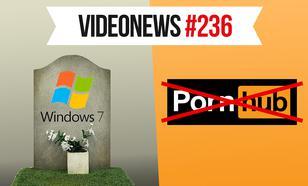 Pożegnanie Windowsa 7, polskie problemy z pornografią - VideoNews #236