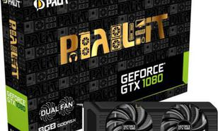 Palit GeForce GTX 1080 DUAL 8GB GDDR5X (256 Bit) DVI-D, HDMI, 3xDisplayPort, BOX (NEB1080015P2D)