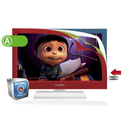 "TV 22"" LED Hyundai LLF22945CR (DVB-T, 50Hz, USB multi)"