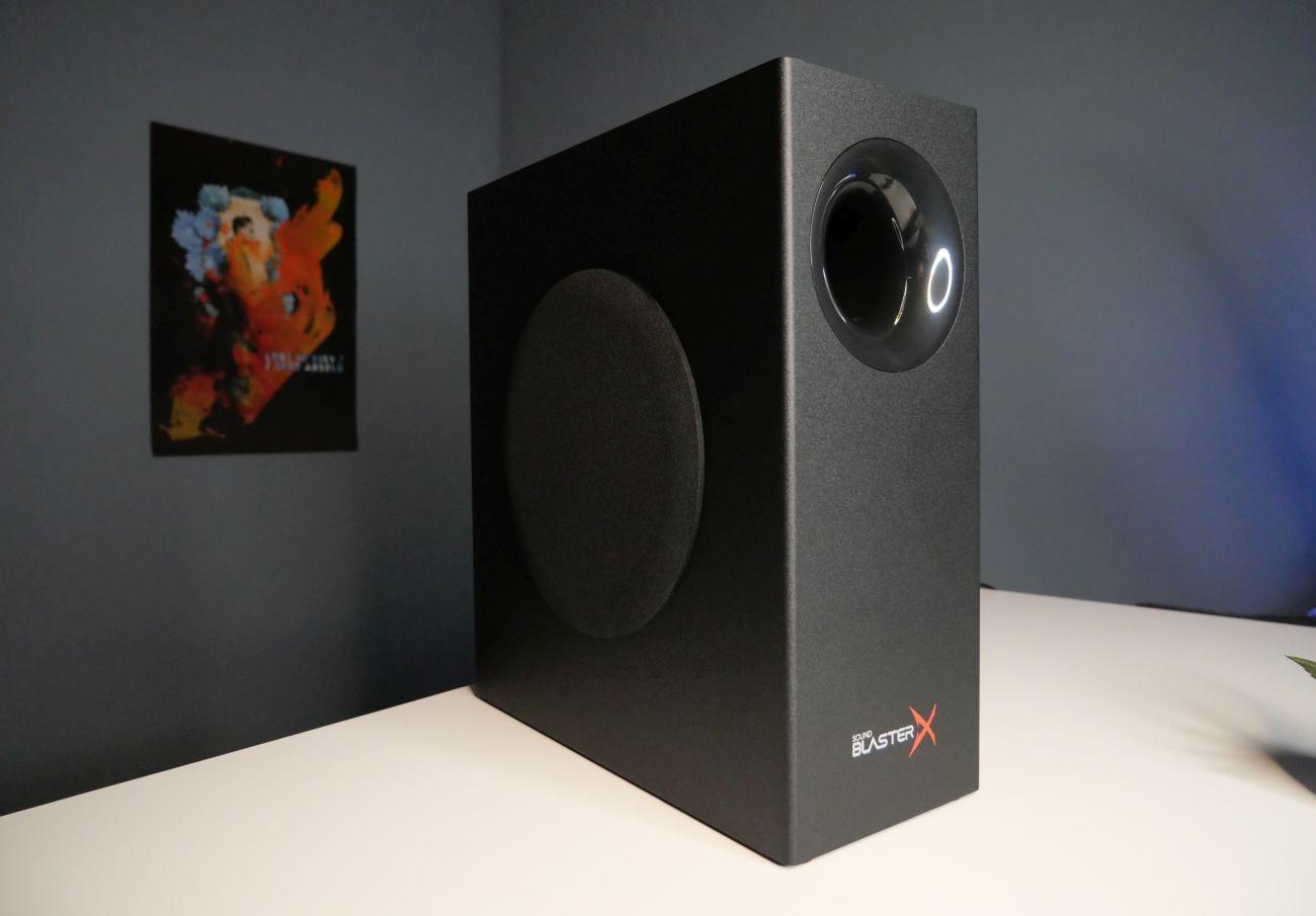 Creative Sound BlasterX Katana subwoofer w pełnej okazałości