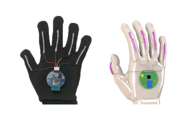 Elektroniczna rękawica odczytuje i tłumaczy znaki języka migowego