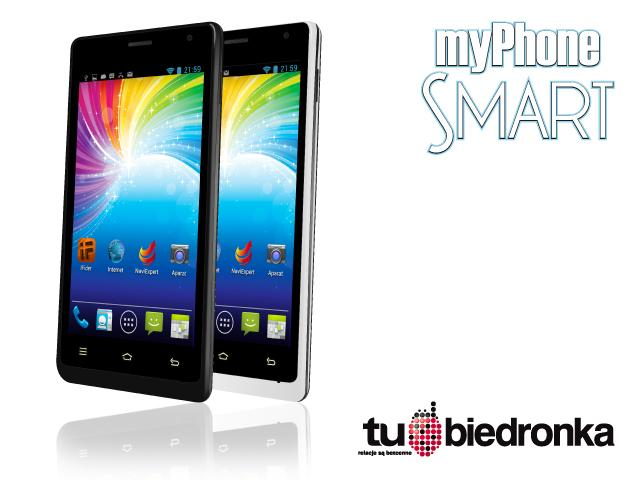 Zestaw dla Ciebie - myPhone SMART z darmowym internetem za 349 zł!