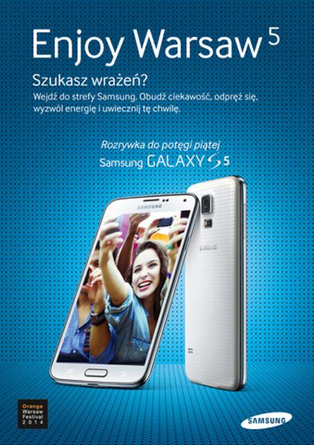Baw się na Orange Warsaw Festival 2014 i... Wygraj Samsunga Galaxy S5!