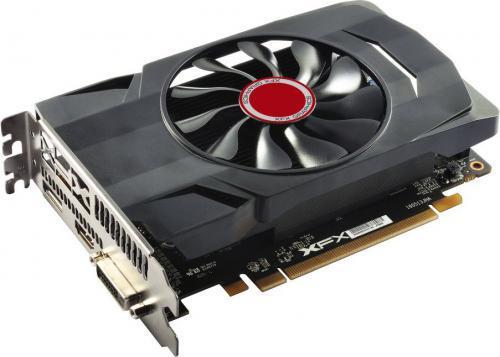 XFX Radeon RX 550 Single Fan 2GB GDDR5 (128 bit), DVI-D, HDMI,
