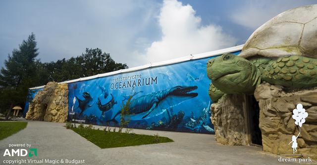 Dream Park Ochaby - pierwsze na świecie Prehistoryczne Oceanarium