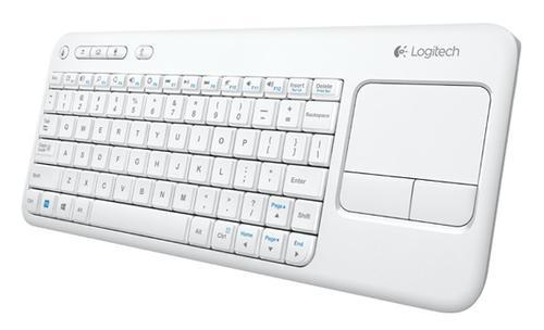 Logitech K400 Bezprzewodowa klawiatura i touchpad 920-005886 White