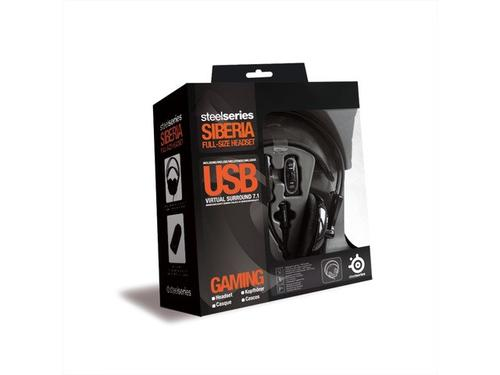 SteelSeries Słuchawki SIBERIA V2 BLACK USB