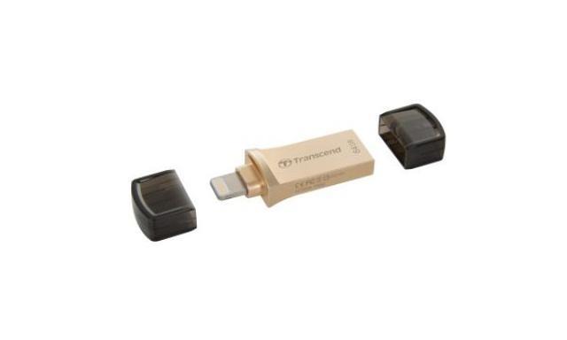 TRANSCEND JetDrive Go 500 - Pendrive do Urządzeń Apple