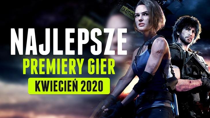 Najlepsze Premiery Gier Kwiecień 2020 - Resident Evil 3, Final Fantasy VII Remake
