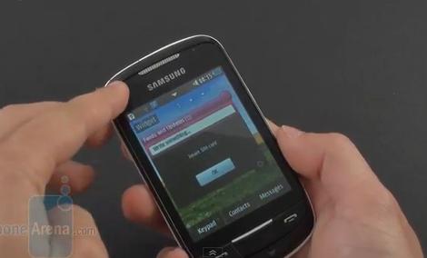 Samsung Corby II - test telefonu