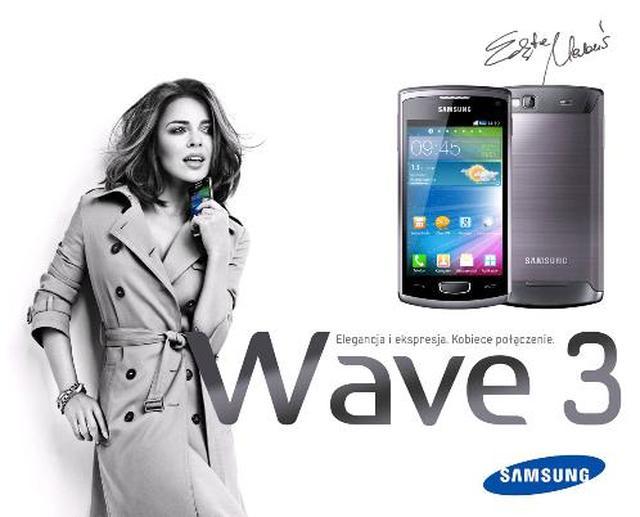 Samsung Wave 3 – kolejna odsłona popularnego smartfonu z najnowszą wersją systemu operacyjnego Bada