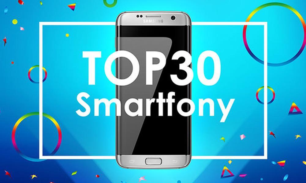Ranking TOP 30 Smartfonów - Wybierz Telefon na Gwiazdkę!