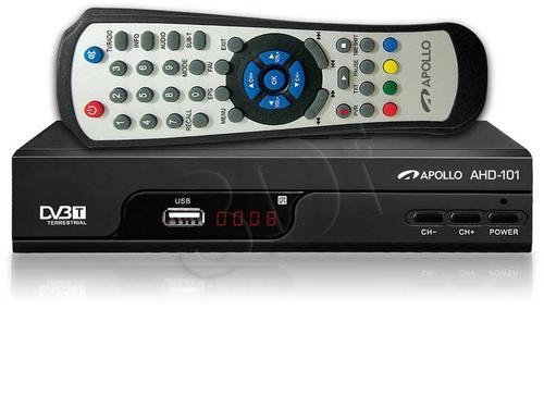 Apollo AHD-101 Dekoder DVB-T i odtwarzacz FHD
