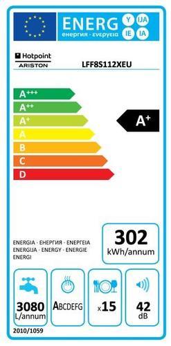 Hotpoint Ariston LFF 8S112 X EU Zmywarka 60 cm