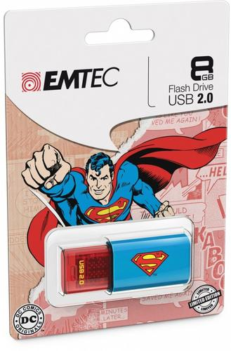 EMTEC Pendrive 8GB Superman 2D C600
