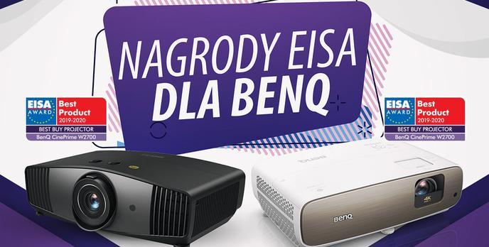 Projektory BenQ nagrodzone przez EISA