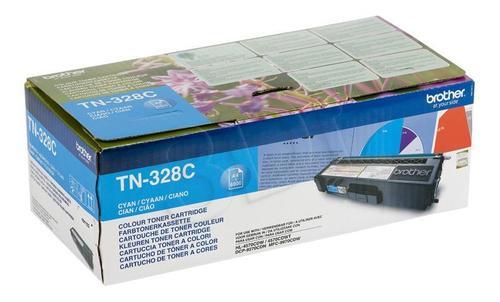 BROTHER Toner Niebieski TN328C=TN-328C, 6000 str.