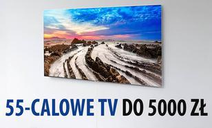TOP 10 Telewizorów 55-calowych do 5000 zł