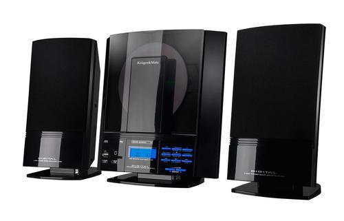 Kruger & Matz Miniwieża KM0811 z czytnikiem CD, wejściami SD i USB