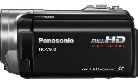 Panasonic HC-V500 - prezentacja cyfrowej kamery HD