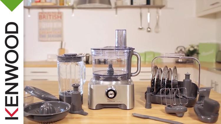 wielofunkcyjny robot kuchenny Kenwood z akcesoriami