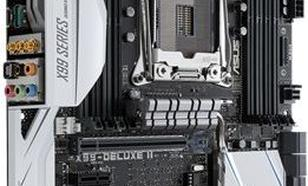Asus X99-DELUXE II, X99, QuadDDR4-2133, SATAe, SATA3, M.2, USB 3.1, ATX ( X99-DELUXE II )