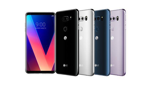 LG V30 wszystkie kolory