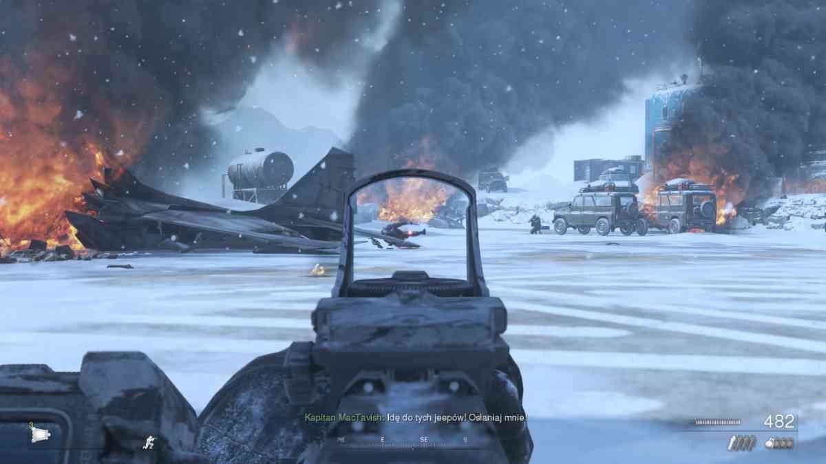 Call of Duty Modern Warfare 2 Campaign Remastered - Kiedyś ta misja nazywała się Alpinista