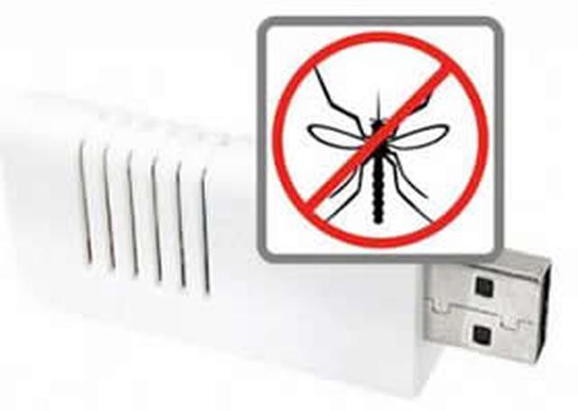 Pendrive'm w komary!