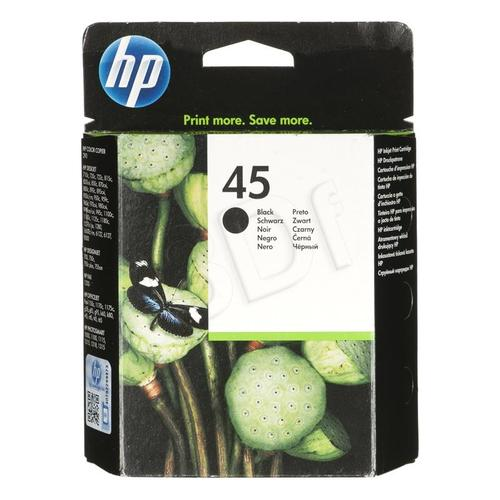 HP Tusz Czarny HP45=51645AE, 833 str., 42 ml