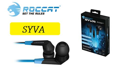 Roccat Syva - Mocno Brzmiące Dokanałówki dla Graczy!