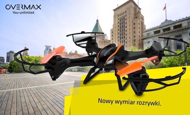 Overmax X-Bee Drone 5.1 - Nowy Dron Dla Wymagających