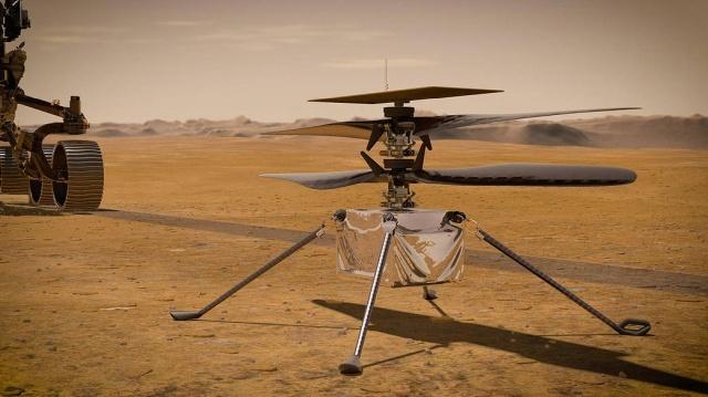 Łazik Ingenuity napędza stary procesor Qualcomma. Źródło: NASA/JPL-Caltech
